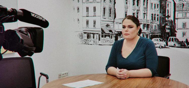 Екатерина Никитина на телеканале «Москва 24»